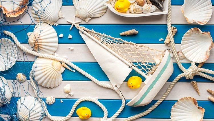 Si no es posible hacer la decoración, puedes incorporar detalles como conchas