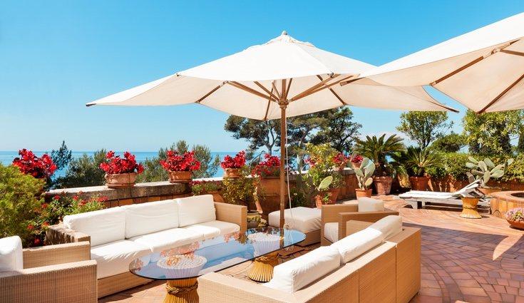 Solemos restar importancia a la decoración de la terraza y e sun error