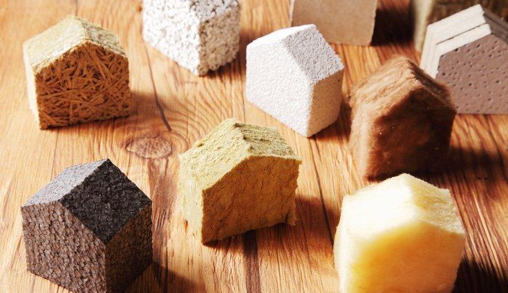 Variedad de materiales de aistalte térmico