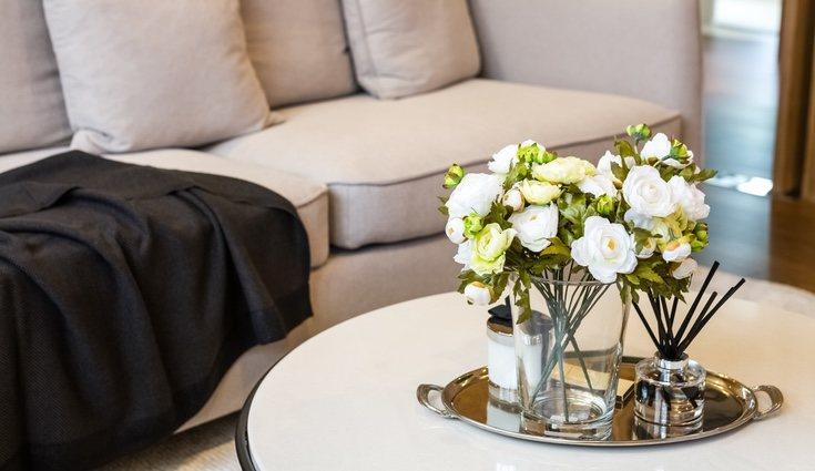 Las flores aportan alegría al hogar