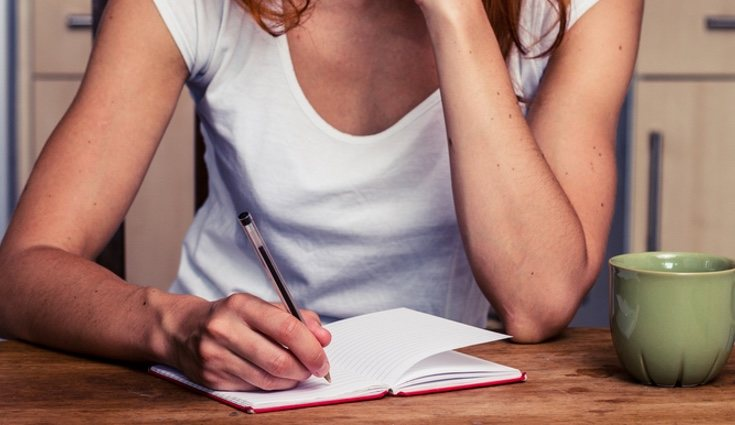 Suelen hacerse listas mentales o escritas