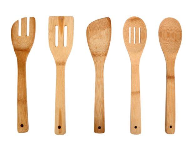 Cubertería y utensilios de madera