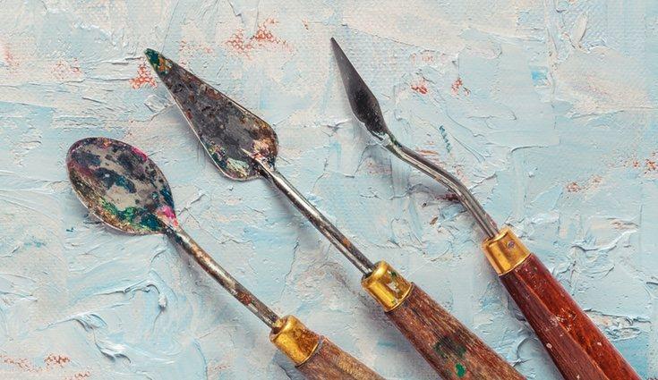 Además de una buena pintura, también necesitarás unos buenos materiales que te ayuden a plasmar tus ideas