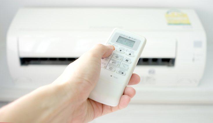 El aire acondicionado debe usarse de forma eficiente