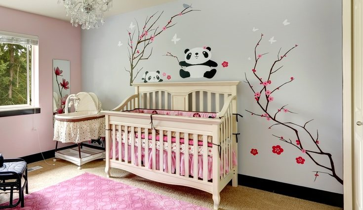 Decorar las habitaciones infantiles con vinilo es positivo para los niños