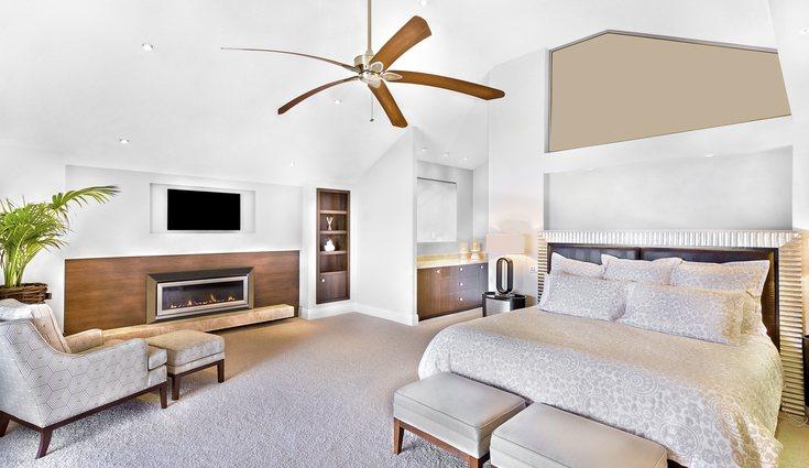 Los ventiladores de techo consumen menos electricidad y cumplen una función decortativa