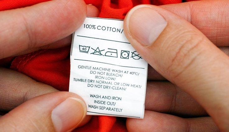 Es imprescindible mirar la etiqueta de lavado