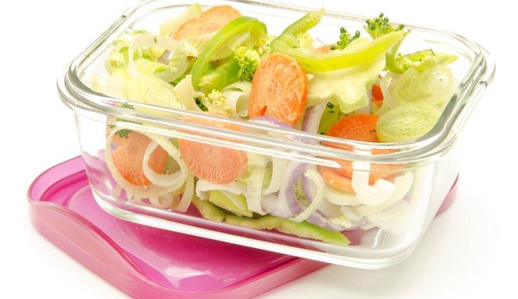 Los recipientes de cristal para llevarse la comida son pesados, pero más fáciles de lavar