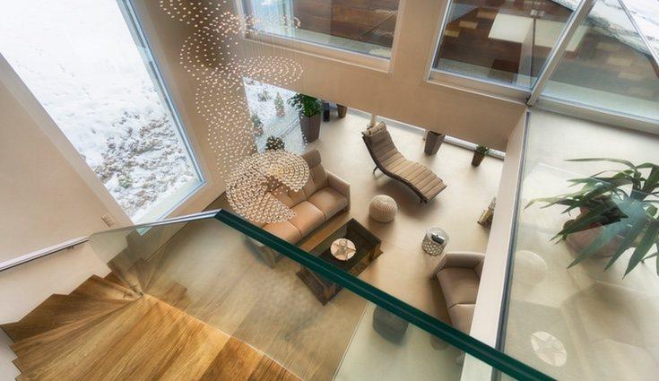 Los cristales de habitaciones exteriores o balcones suelen ensuciarse con más facilidad