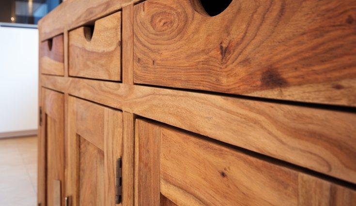 La madera tiene que cuidarse muy bien ya que se daña fácilmente