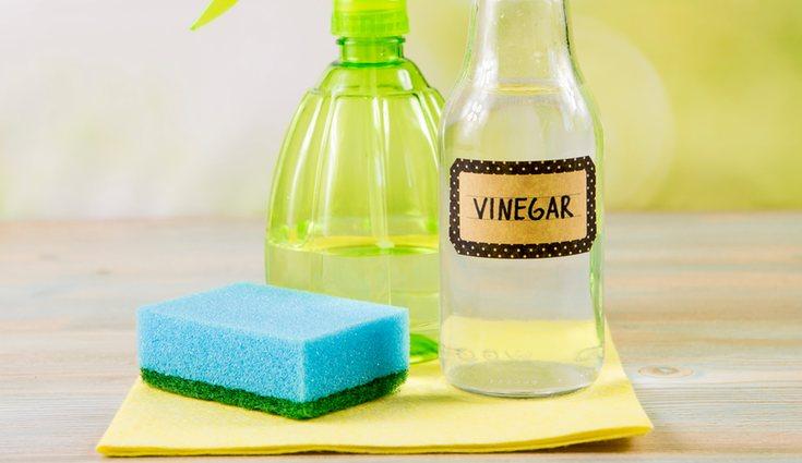 El vinagre es una alternativa natural para limpiar el horno