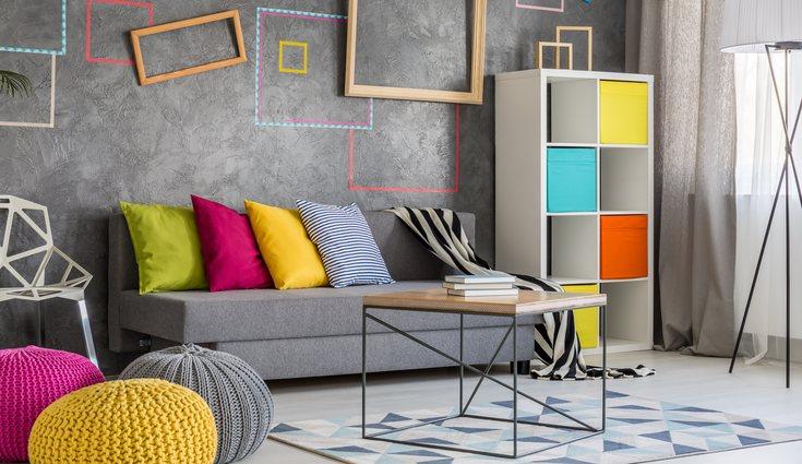 Los colores pueden influir en el estado de ánimo de los habitantes del hogar
