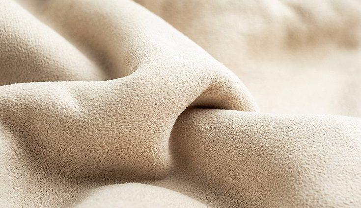 El ante es un tejido suave, natural y fino