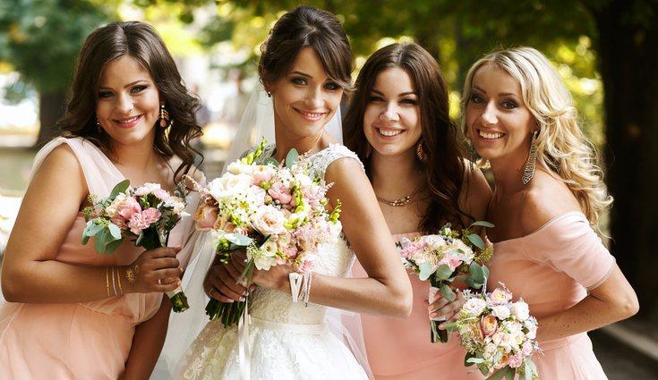 El vestido de la novia será el centro de atención