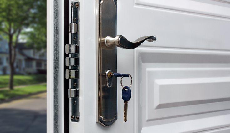Deberás cerrar la puerta de casa con llave