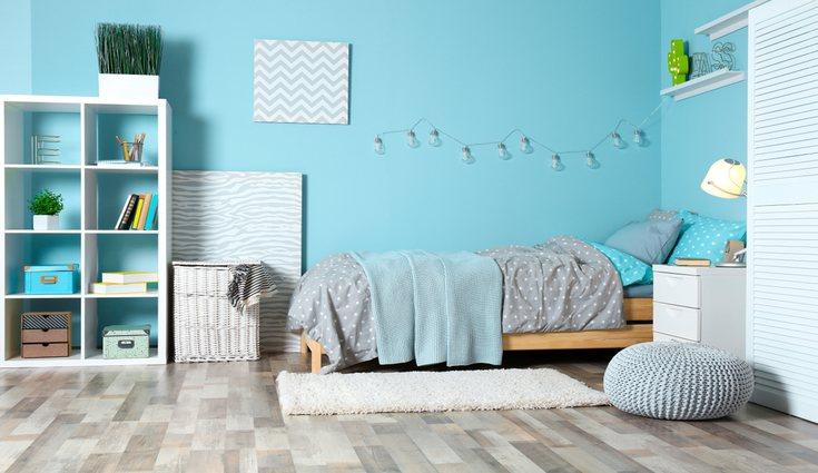 El dormitorio debe ser sereno, pintado de colores tranquilos