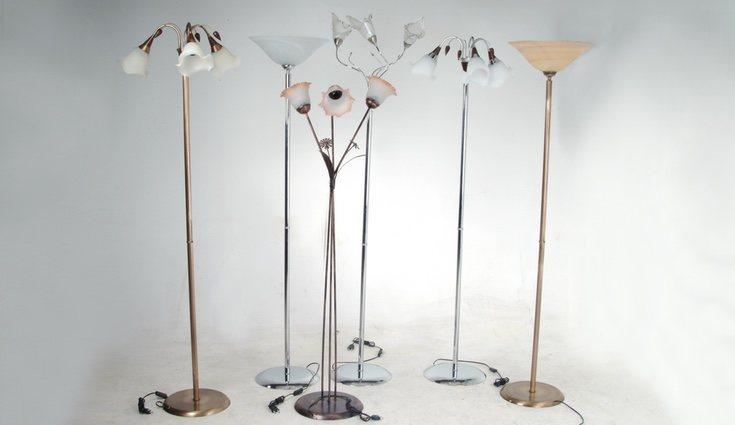 Hay muchos tipos de lámparas de pie