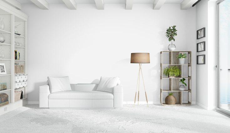 El color blanco da una sensación visual de profundidad