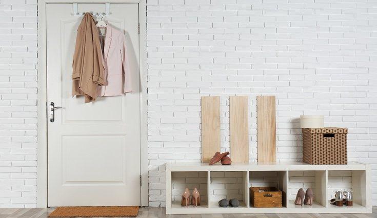 El almacenaje es un práctico truco de decoración