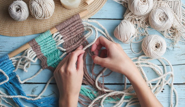 Comienza tejiendo una anilla