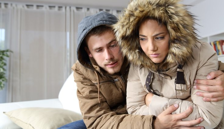 Hay que evitar pasar frío en casa