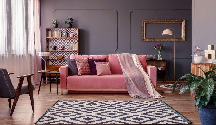 Los estampados ofrecen muchas opciones dentro de la decoración new classic